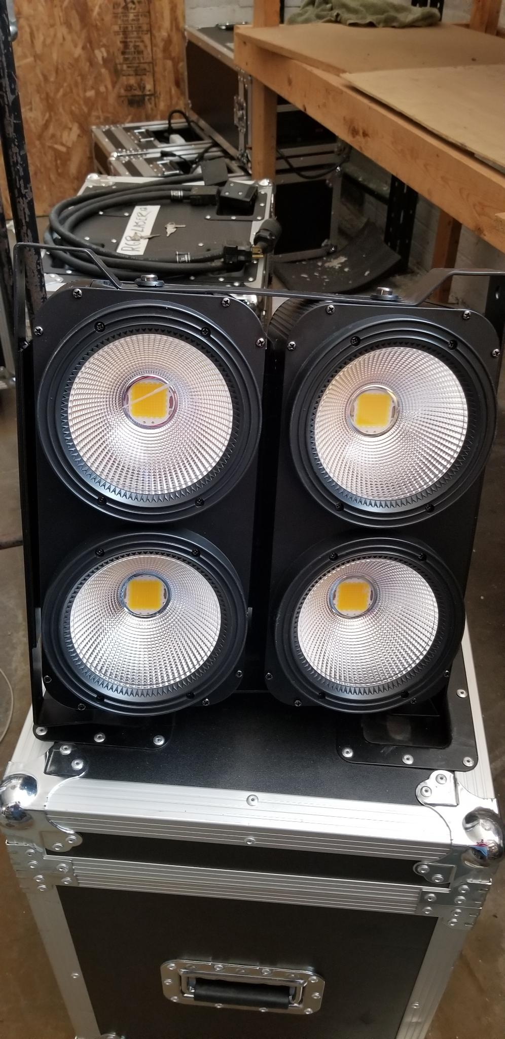 4-100W COB LED Blinder $150